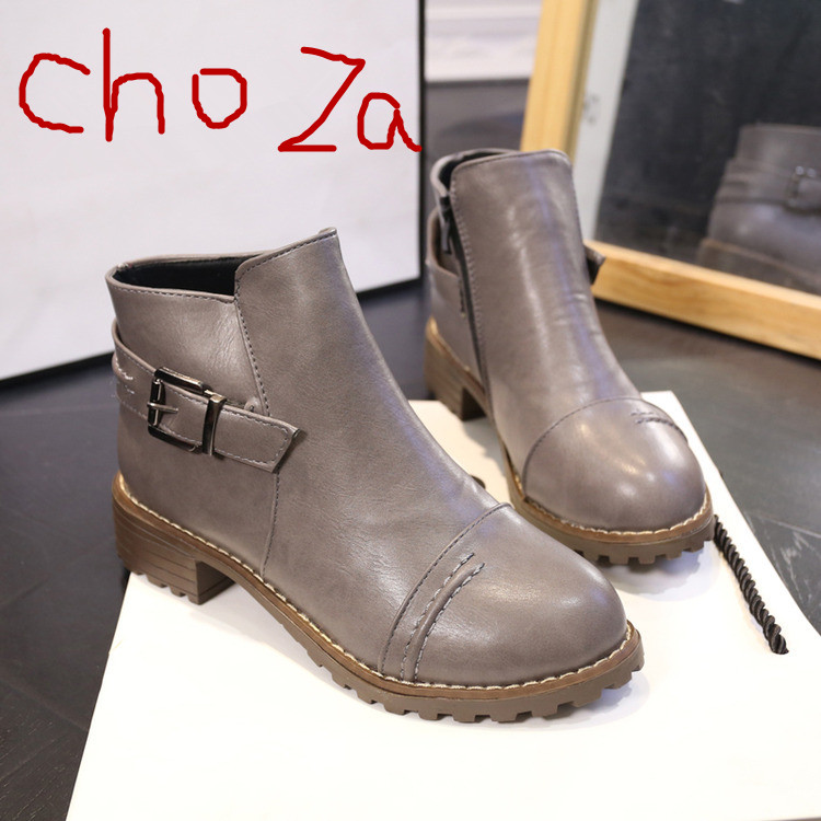 C88878A Most popular wedge ankle boots 2015 ladies winter boots