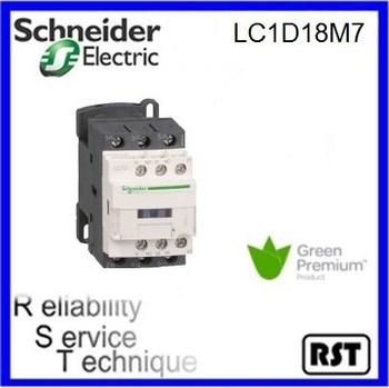 Lc1d18m7 3p 18a 220v Original Tesys Schneider Telemecanique ...