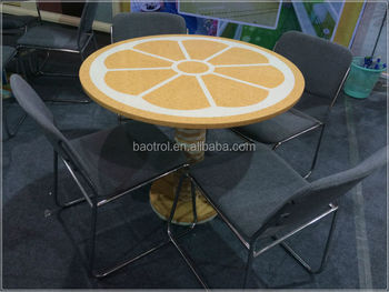 New Design Customized Acrylic Table Top Composite Stone Table Top Round  Table Tops - Buy Round Corian Table Tops,Customized Acrylic Table