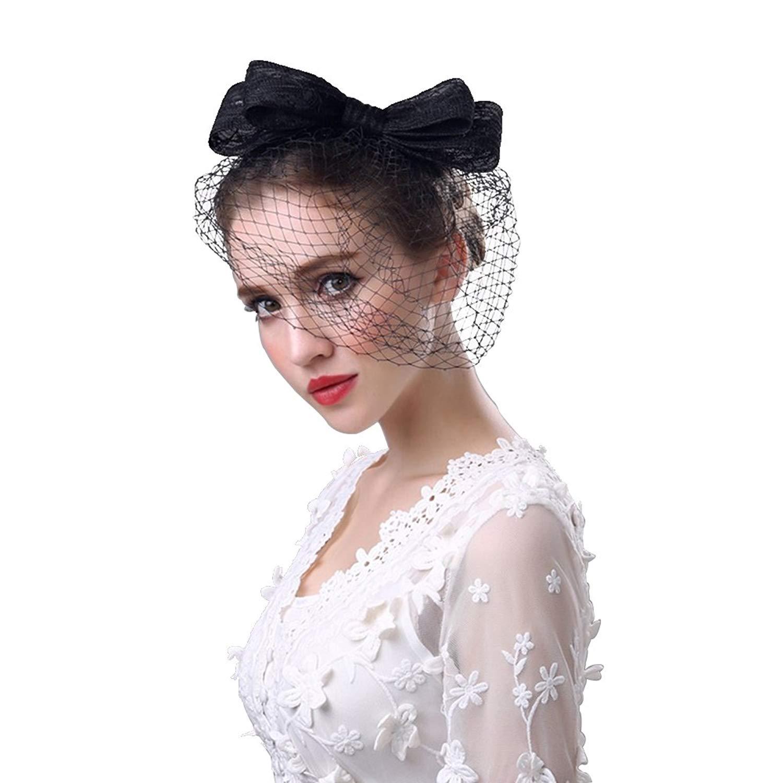 Get Quotations · RAGAN Bridal Fascinator Hat be92283d120