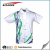 customized pique all over sublimation printing slim fit polo shirt