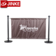 Commercial Cafe Barrier Stainless Steel Railing Stanchion Base