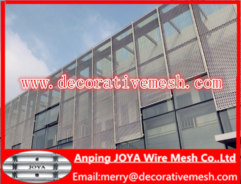 Aluminum Expanded Wire Mesh As Building Facade Architectural ...