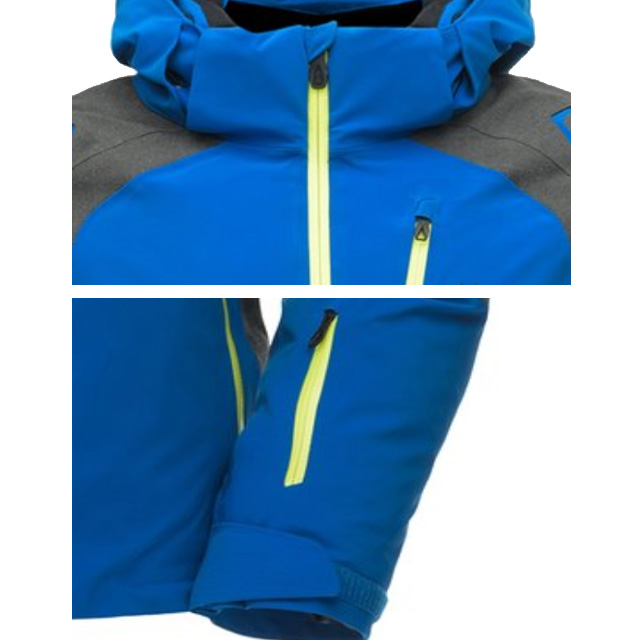 Men's Skiing Jacket Winter Outdoor Snowboard Wear Hiking Snow Jacket Reinforced Patches  Ski Jacket