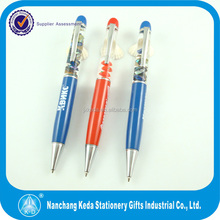 2014 Best selling metal floating action pen for promotion