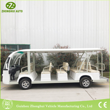 battery power New electric sightseeing 14 passengers bus for sale