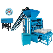 ZCJK QTJ4-35 semi-auto concrete block making machine small price