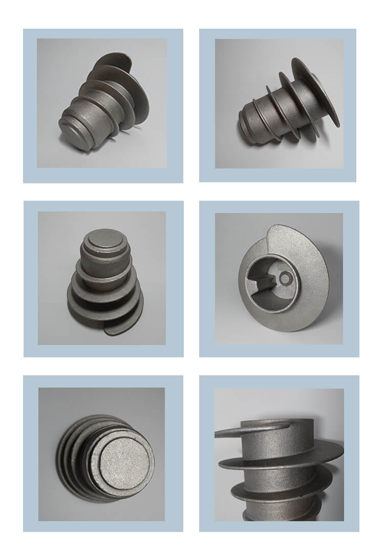 Densen customized OEM Machinery Spare Parts CNC Milled Food  Machine Part
