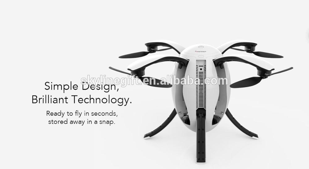 PowerEgg RC Drone Egg shaped foldable UAV 360 Degree Ring Photo 4K HD Camera
