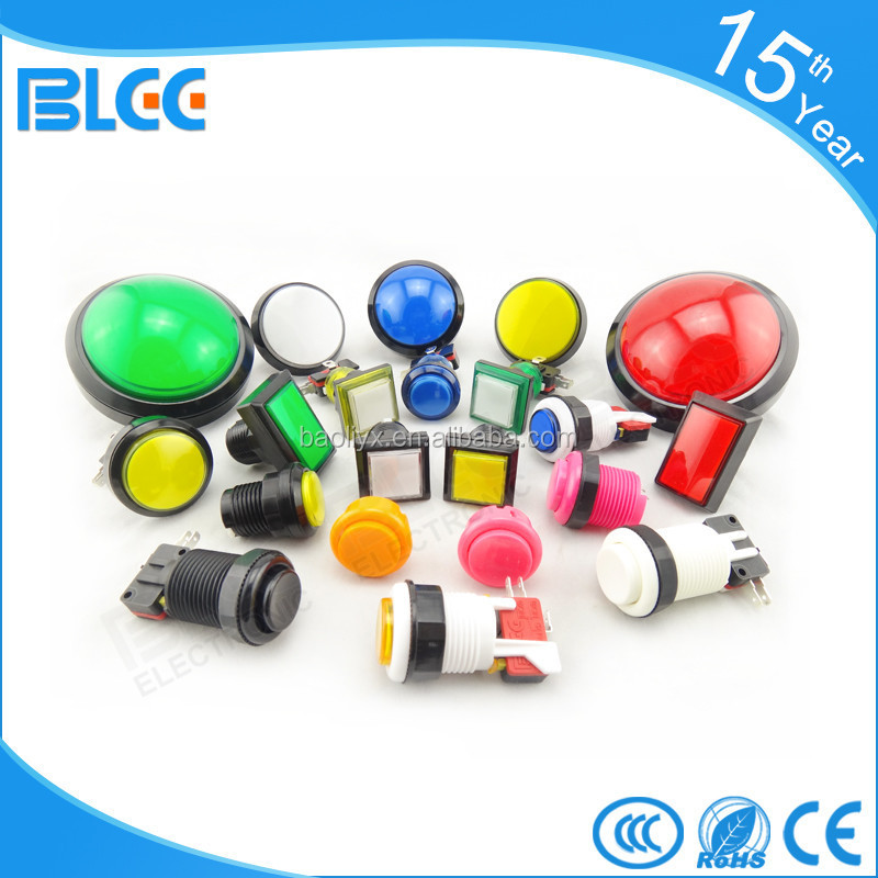 Proveedor china hacer micro push button arcade push button switch
