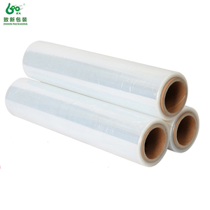 Wholesale price food wrapping plastic center folded PVC shrink film