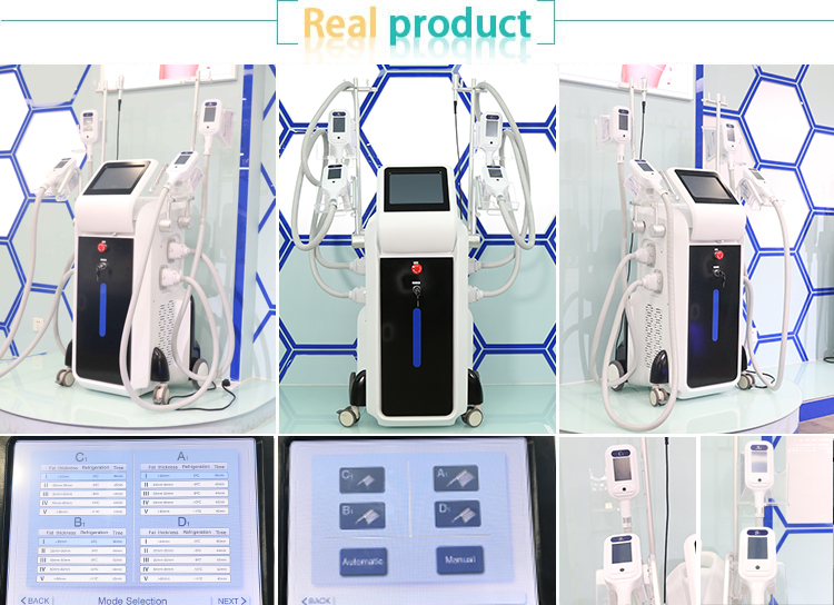 Beauty Freeze Fat Equipment Cryo Liposuction Weight Loss Slimming Cool Shape Body Sculpting Machines For Criolipolisis