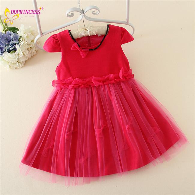1e2f5ecc5 خريف وشتاء فستان الفتيات حزب اللباس الصوفية تصميمنوعية جيدة للبنات الصغار  الملابس الجميلة