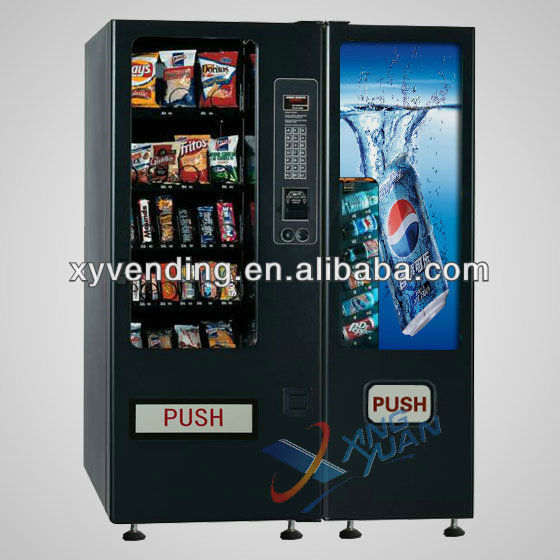 Drinks And Snacks Vending Machine