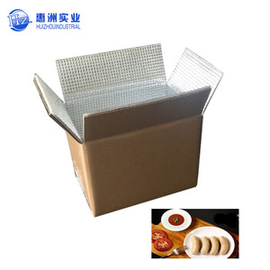 Insulated EPE XPS EPS Foam Cold Paper Food Boxes for Transport Keep Food Fresh Box