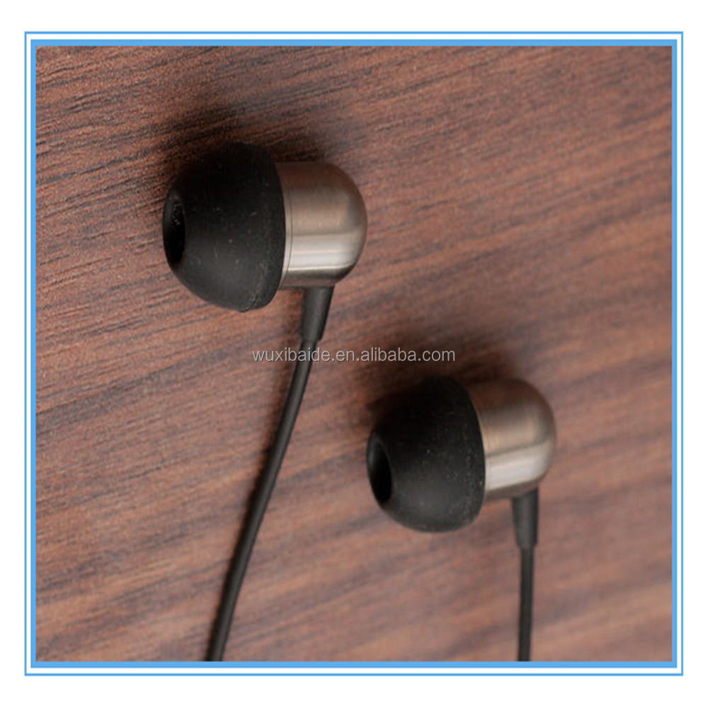 Titanium Metal earphone parts OEM design earphone parts Precision machined earphone parts