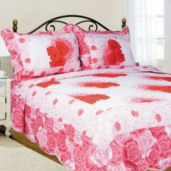 Patchwork Design Cotton Fabric Ribbon Embroidery Bedsheet Buy