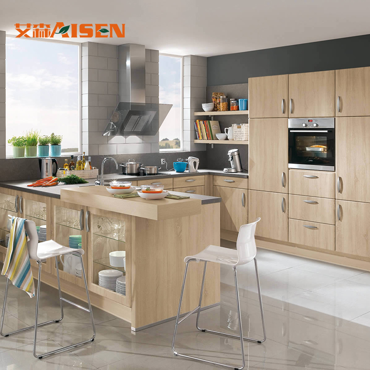 Plywood Carcase Material Modern Furniture Pvc Kitchen ...