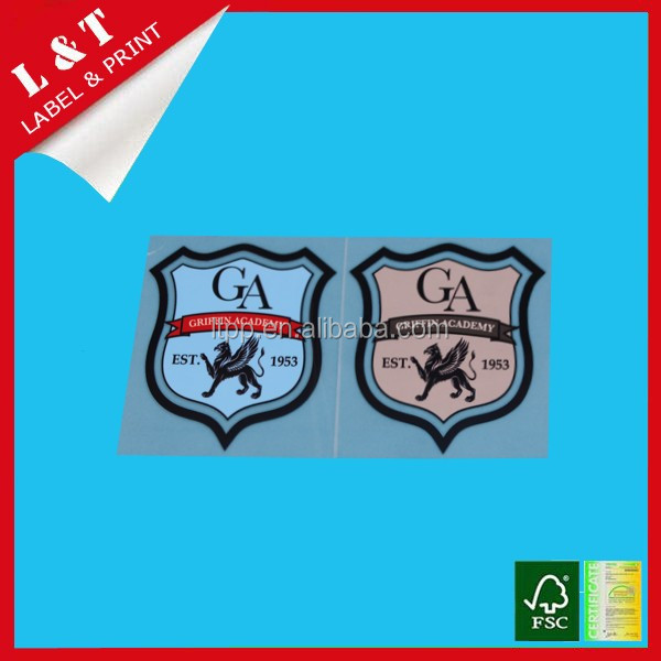 customize garment heat transfer labels for clothing