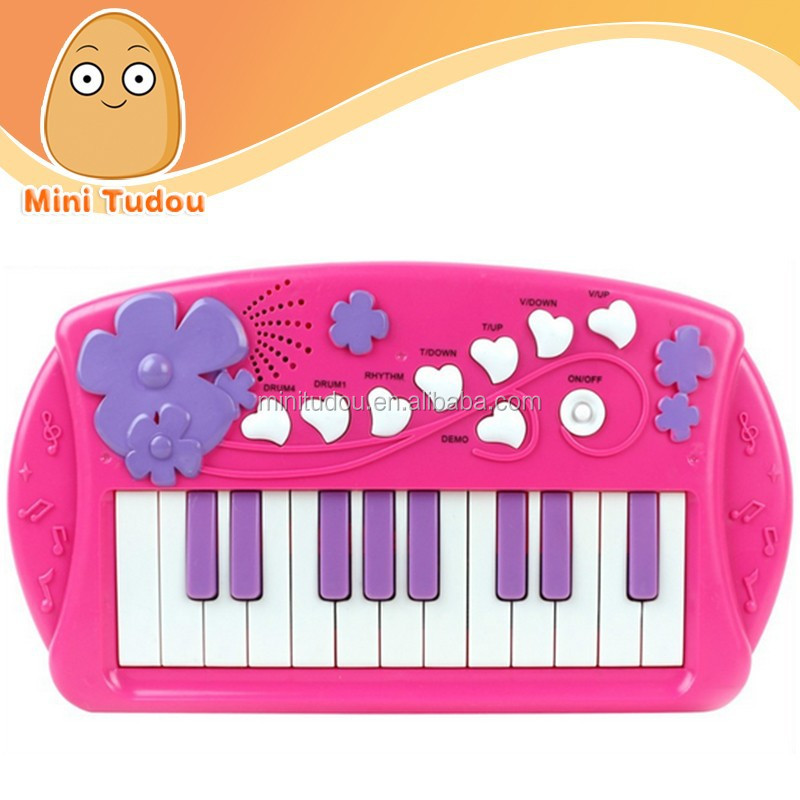 Educational kids toys notes toy piano cartoon midi keyboard MT801069