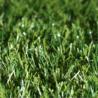 Waterproof green artificial turf landscaping lawn synthetic grass for garden fields