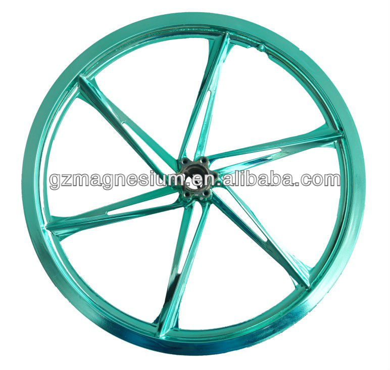2015 Latest Special Design Folding Bike Part 20 Inch Magnesium Alloy Intergrated Wheel Rims For Kid Bike Accessories