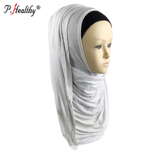 Wholesale fashion dubai muslim cotton jersey hijab scarf instant shawls with stones