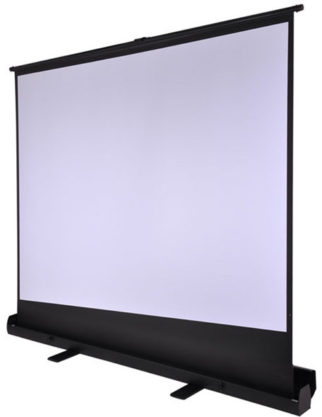 Large Portable Screen Rolled Up : Inch portable easy roll up floor standing projector