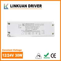 TUV certificate triac dimmable power supply and constant voltage led driver 12volt