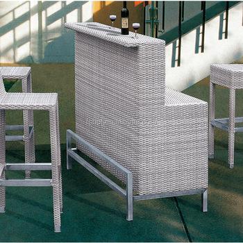 3a6da830b1bd rattan high garden furniture high chair and high table outdoor furniture  bar table chairs, outdoor