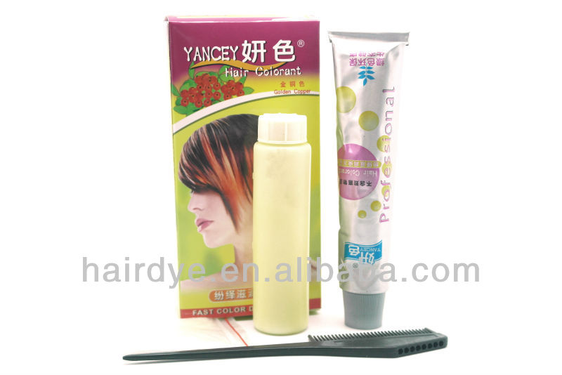 YANCEY salon hair dye cream