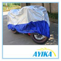 Universal Waterproof Wind Motorbike Motorcycle Cover Black Silver motorcycle fuel tank cover