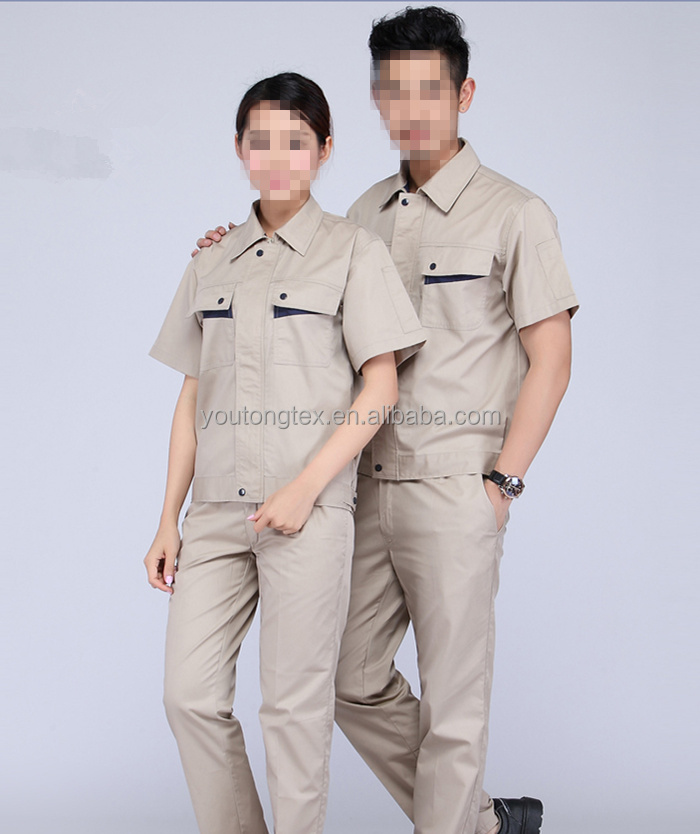 high quality 100% Cotton Workwears uniform