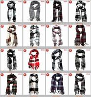 Fashion printed sport club fans men scarf wholesale