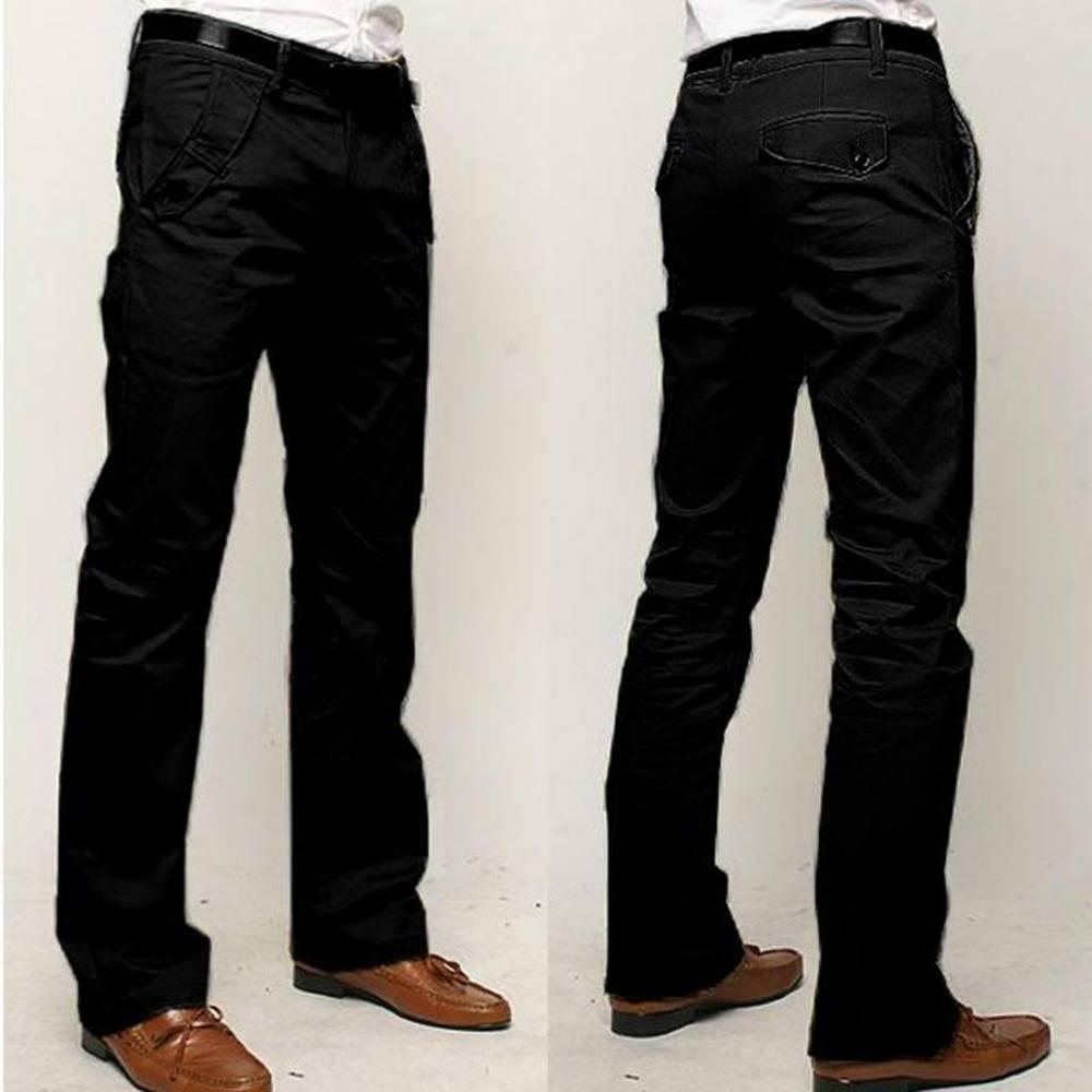 1bb3b834b1 OEM proveedor China moda hombres algodón casual pantalones de pierna recta  negocio largo baggy tipos de