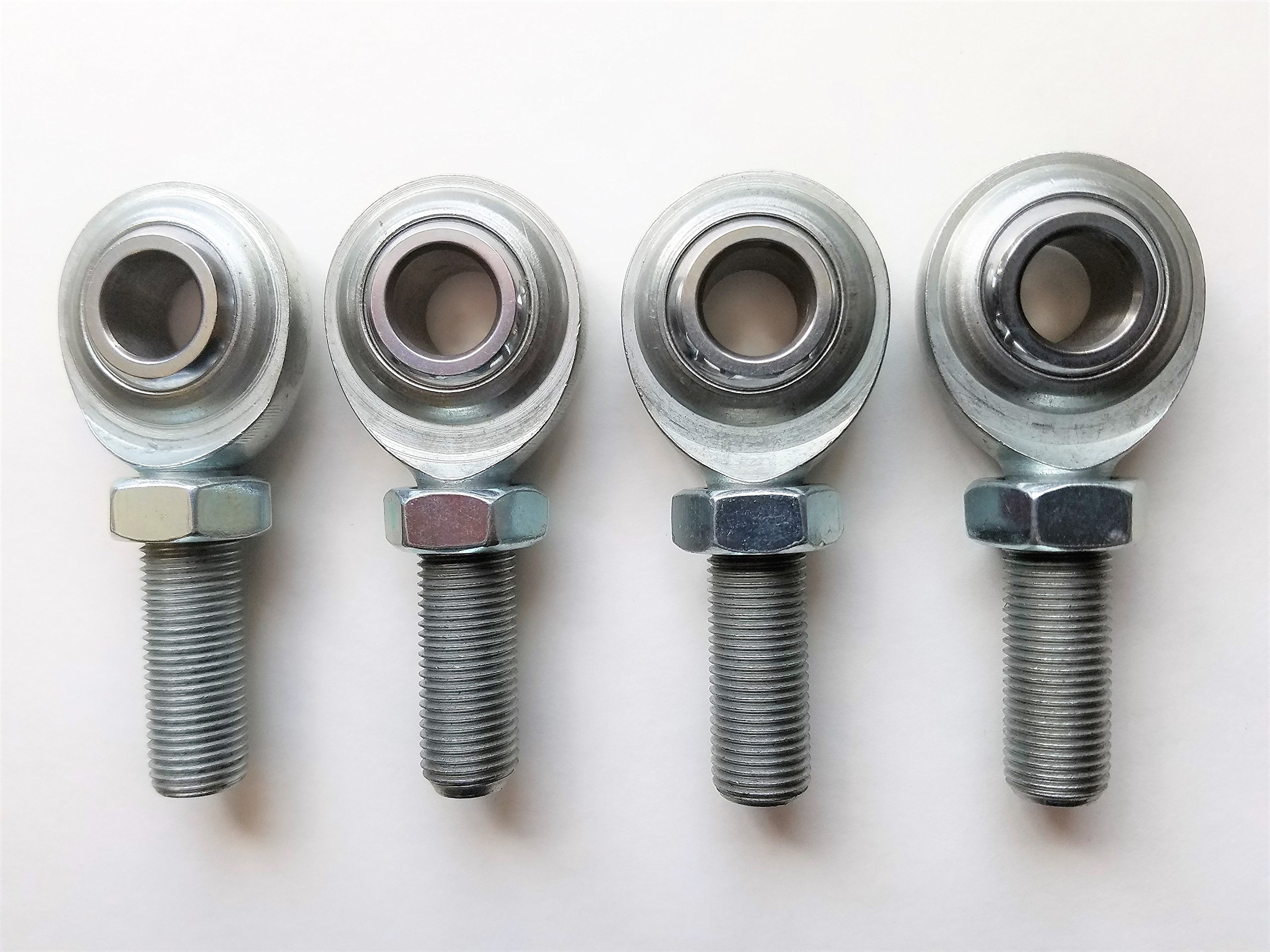 American Star 4130 Chromoly 1//2 Inch XMR8 Rod Ends//Heim Joints Set of 4