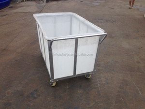plastic water tank with wheels