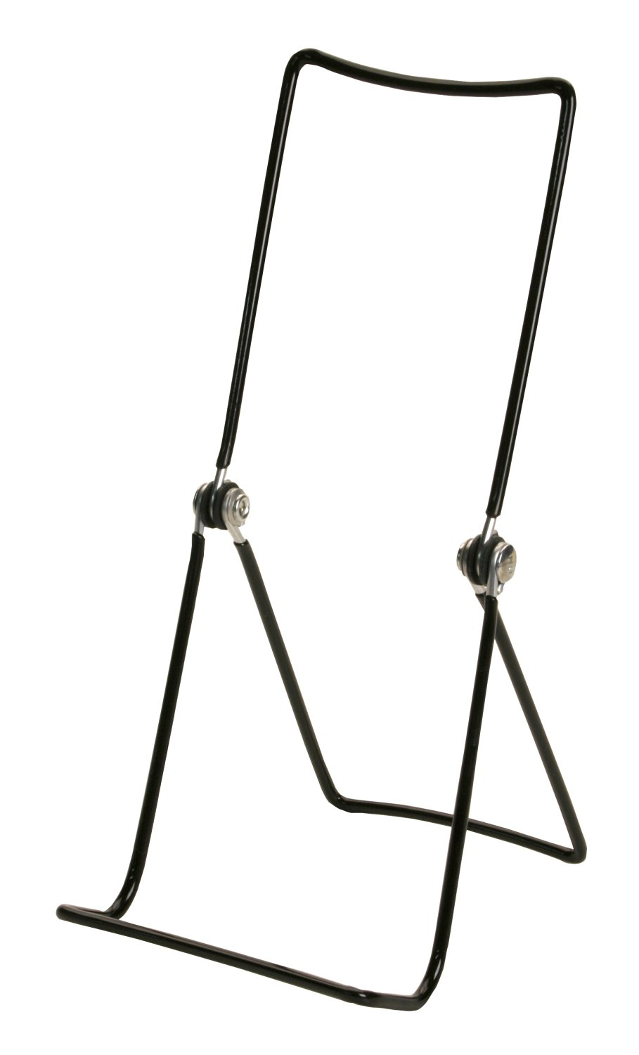 """Gibson Holders 12 3AB Adjustable Wire Display Easels- 3.75"""" W x 8"""" H with 1.5"""" display ledge, Black"""