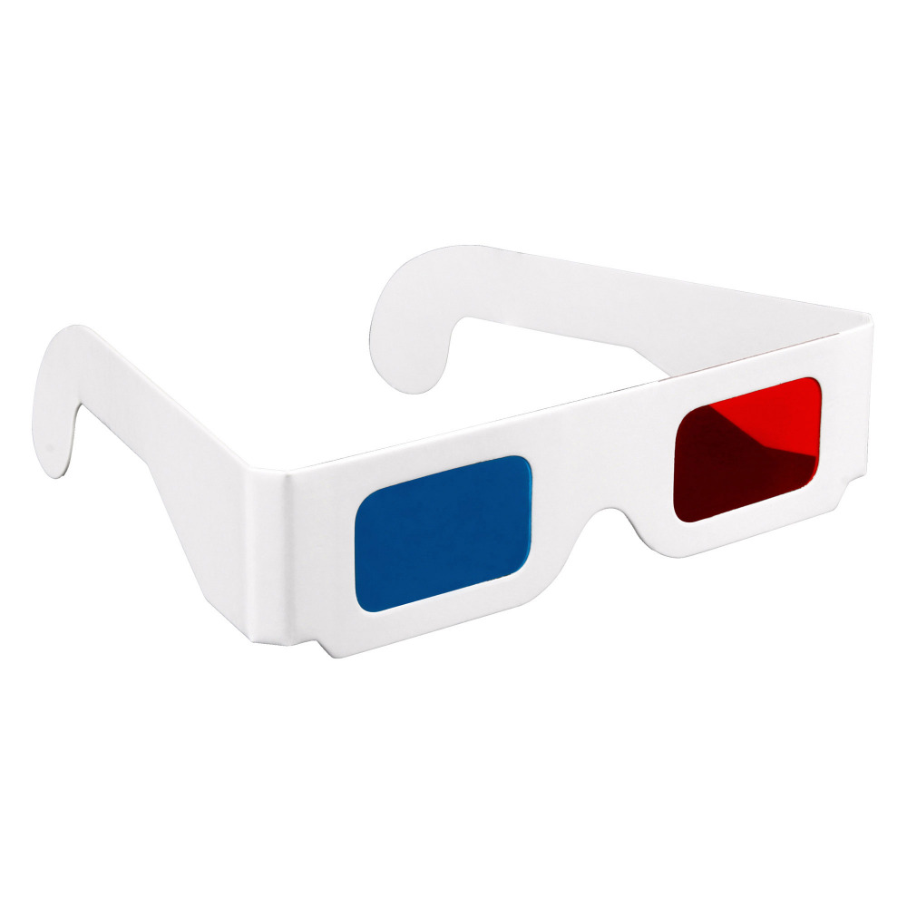 Online Buy Wholesale Paper Red Cyan 3d Glasses From China