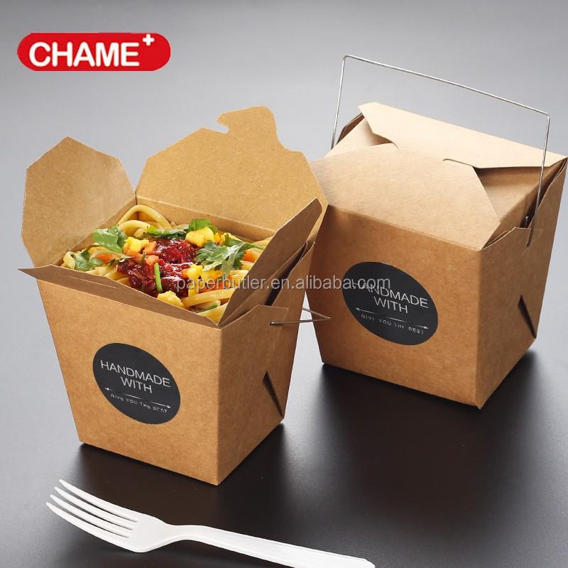 Kertas Kemasan Makanan Cepat Saji, Grosir Kotak Mie Kertas