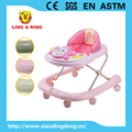2016 new baby walker with musical and flashing monkey head