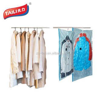 58cca1c9552b large dress hanging compression air removed space saver vacuum seal storage  garment bags for coat