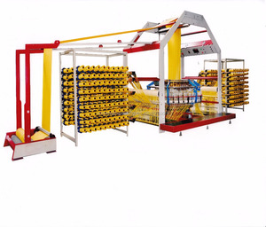 Automatic circular loom plastic sack pp woven bag making machine