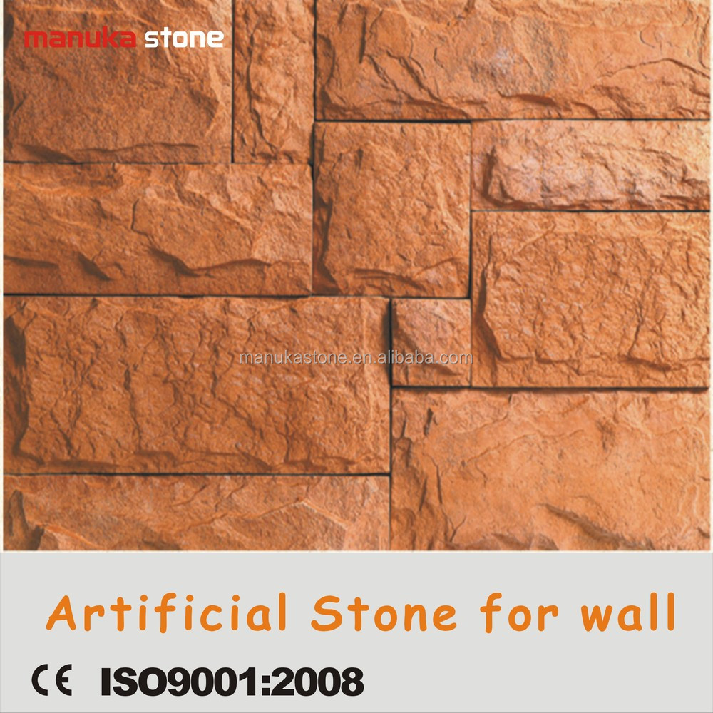 Foshan Manuka 2015 New Wall Cladding Stone Cement Paving Foam ...