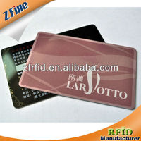 High Quality Credit Card Size CMYK Printing Business /Invitation Card