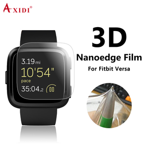 2018 Wet Installation Coating 3D Full Water Screen Guard For Fitbit Versa Screen Protector