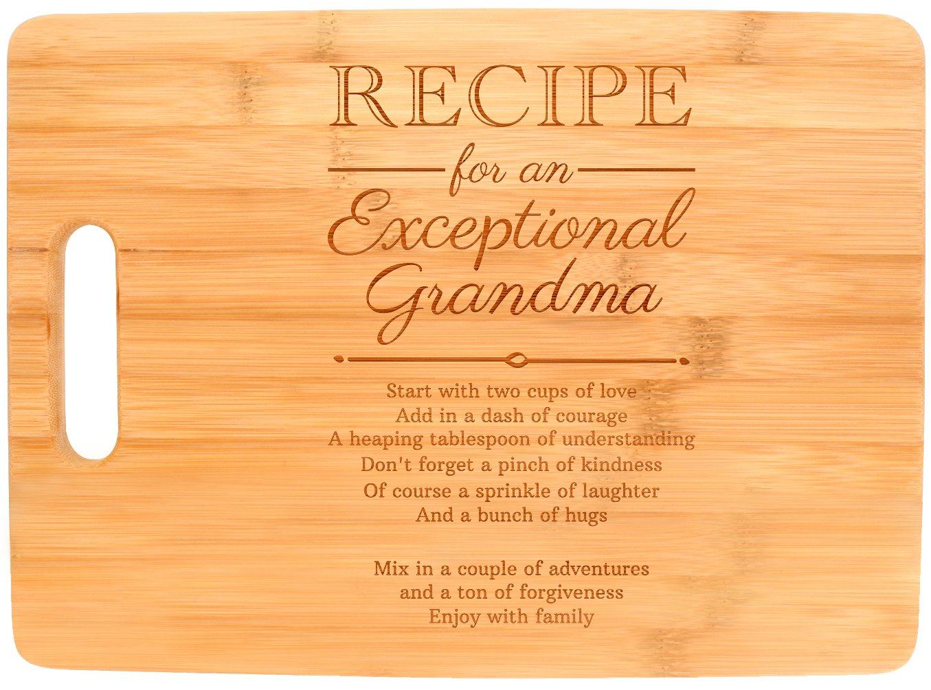 Get Quotations Mothers Day Gifts For Grandma Recipe An Exceptional Mother Birthday