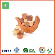 Wooden Customized Balancing Blocks Scale Math Learning Educational New Toys for Kid 2016