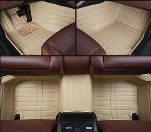 Leather Car Floor Mat for All KInds of Car with Wonderful Quality