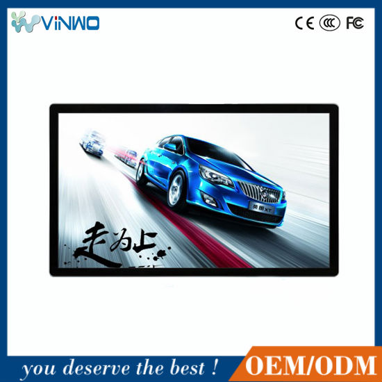 wall-mounted panel 22- 82 ad lcd display,digital sianage advertising display totem lcd player, android 4.4.2 tv digital signage.